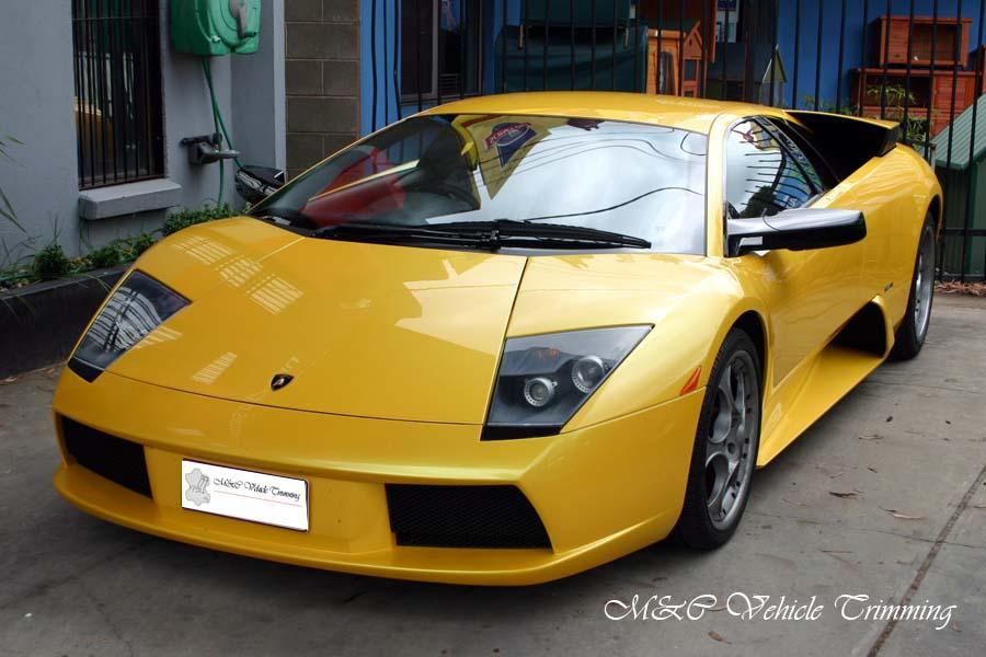 Lamborghini Car Interior M Amp C Vehicle Trimming Adelaide