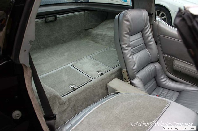 Chevrolet Corvette C3 Indianapolis 500 Pace Car 1978 carpet replacement - Car Interior